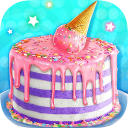 Ice Cream Cone Cake - Sweet Trendy Desserts