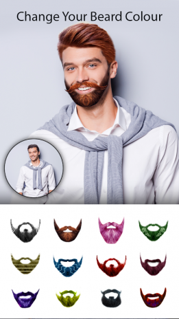 Man Photo Editor Man Hair Style Mustache Suit Download APK - Hair colour editor download