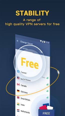 Hi VPN Pro - Free Unlimited Proxy & Hotspot VPN 1 5 5 180
