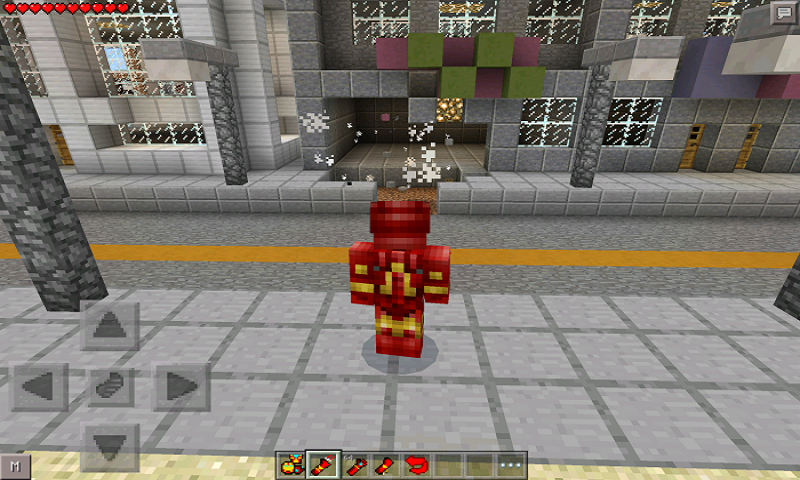 Mod Iron Man for MCPE screenshot 1