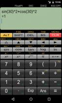 Panecal Scientific Calculator Screenshot