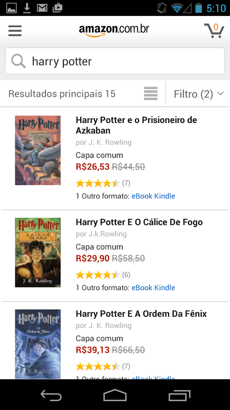 Amazon Shopping - Ofertas screenshot 2