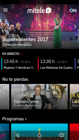 Mitele - TV a la carta 3.5.5 Descargar APK para Android - Aptoide