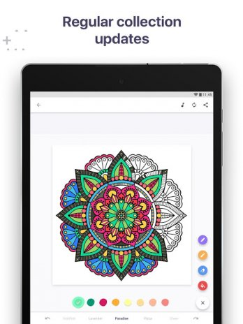 Colouring Book For Me Mandala 34 Download APK For Android