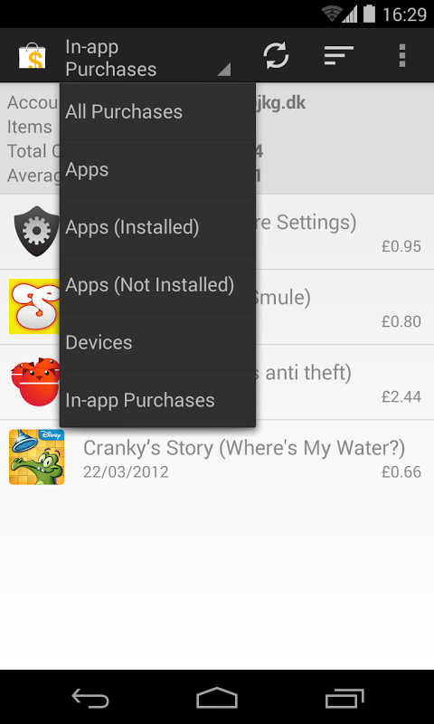 My Paid Apps screenshot 2