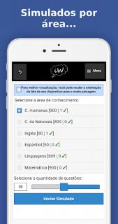 Enem 2018 Simulados e Redação screenshot 4
