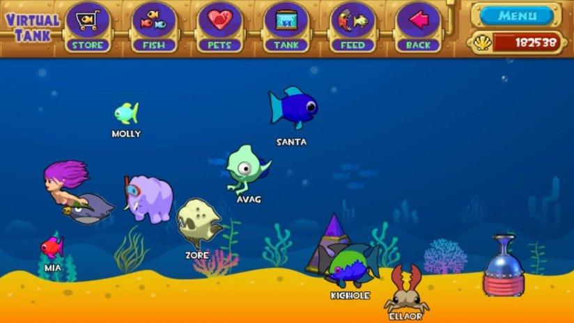 download pocket aquarium mod apk