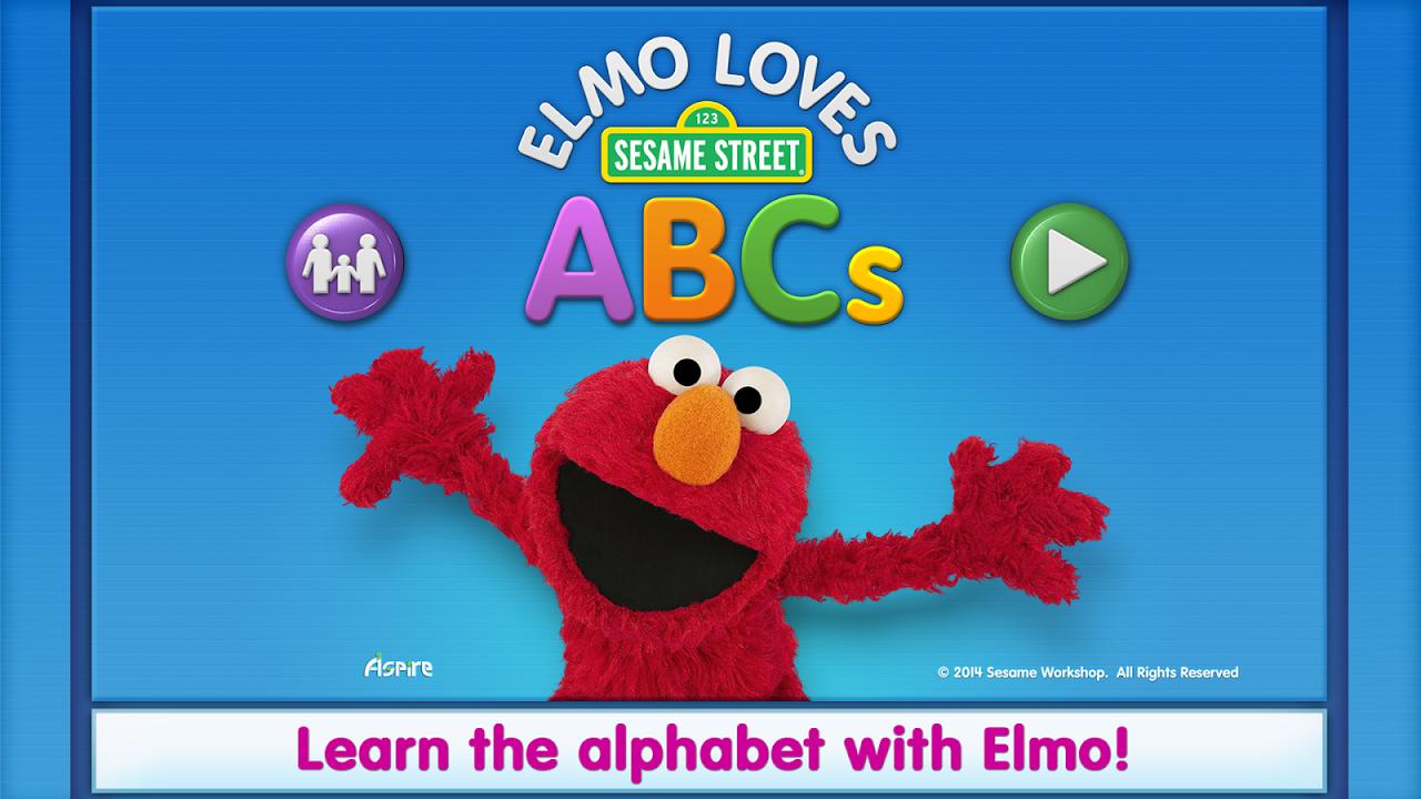 Elmo Loves ABCs screenshot 1