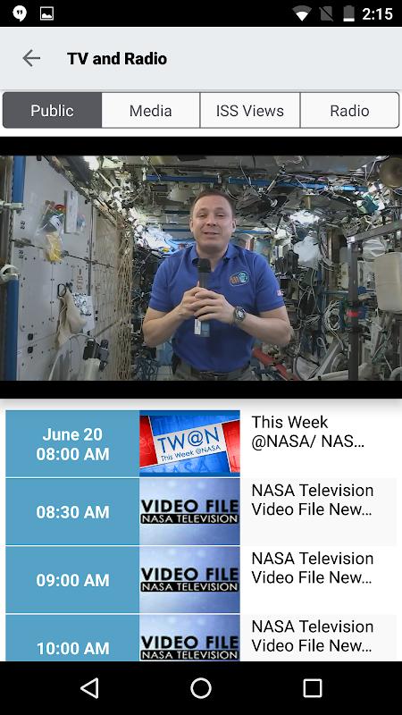NASA screenshot 3