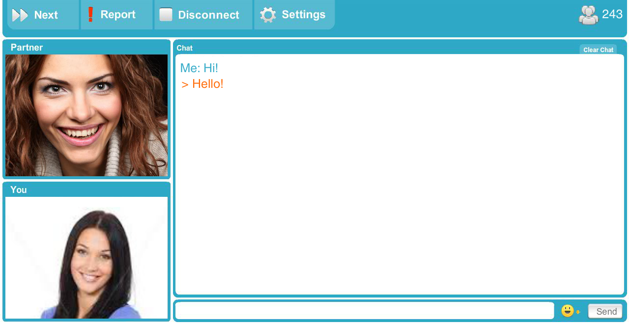 Random chat roulette for android