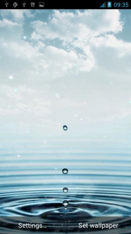 Download Water Drop Live Wallpaper Apk Best Hd Wallpaper