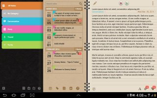Groovy Notes - Personal Diary Screen
