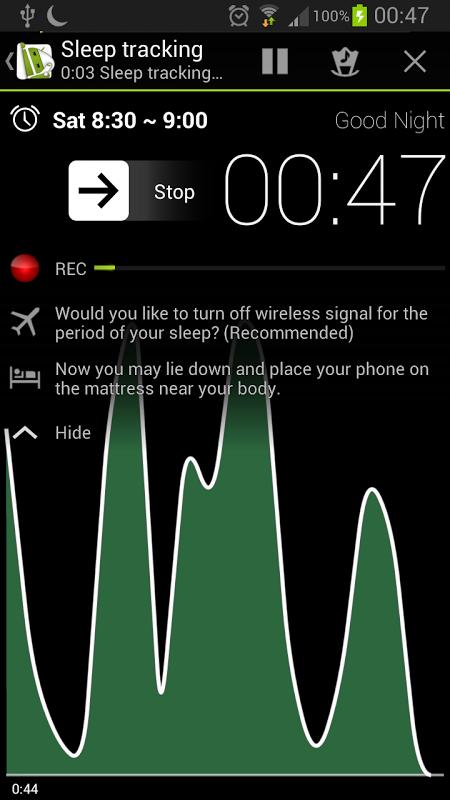 Sleep as Android screenshot 7