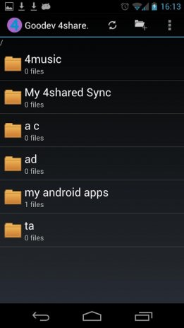 4shared.com android apps