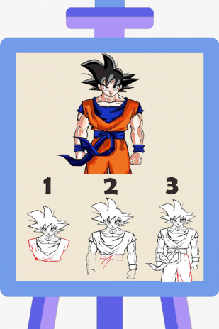 How To Draw Goku Super Saiyan 1 1 Telecharger L Apk Pour