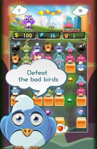 Birds Bomber match3 screenshot 3