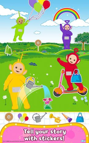 Teletubbies Paint Sparkles Screenshot 3