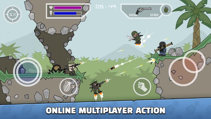 Doodle Army 2 : Mini Militia screenshot 3