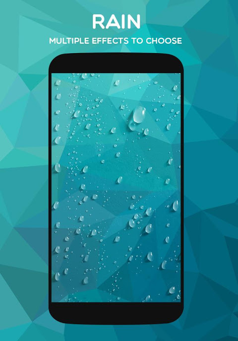 Weather Live Wallpaper: Rain, Snow, weather apps💧 screenshot 1