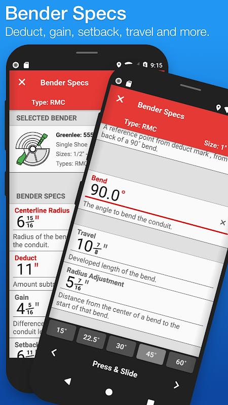 QuickBend: Conduit Bending screenshot 2