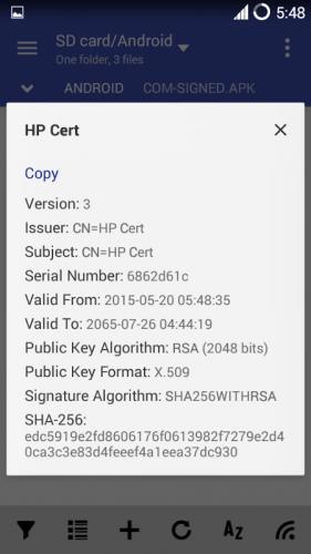 MiX Signer screenshot 7