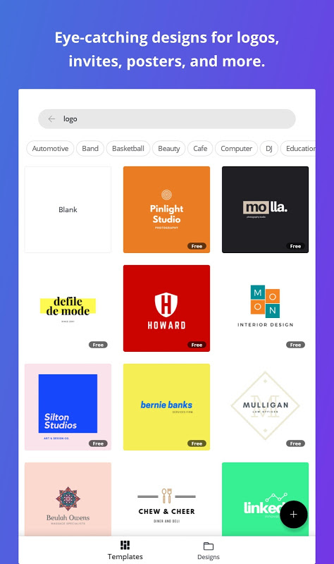 Canva: Graphic Design for Flyers, Logos & Posters screenshot 2