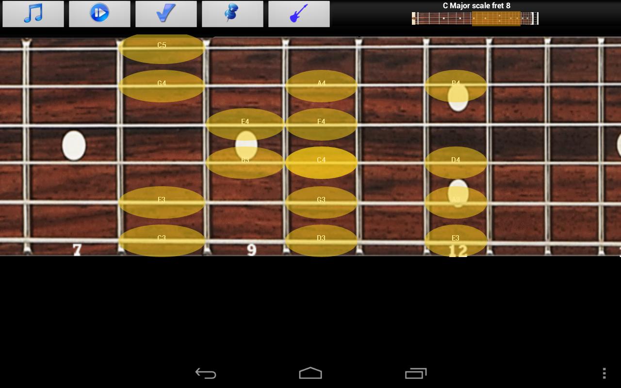 Guitar Scales & Jam Free screenshot 1