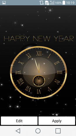 new year 2018 live wallpaper screenshot 2