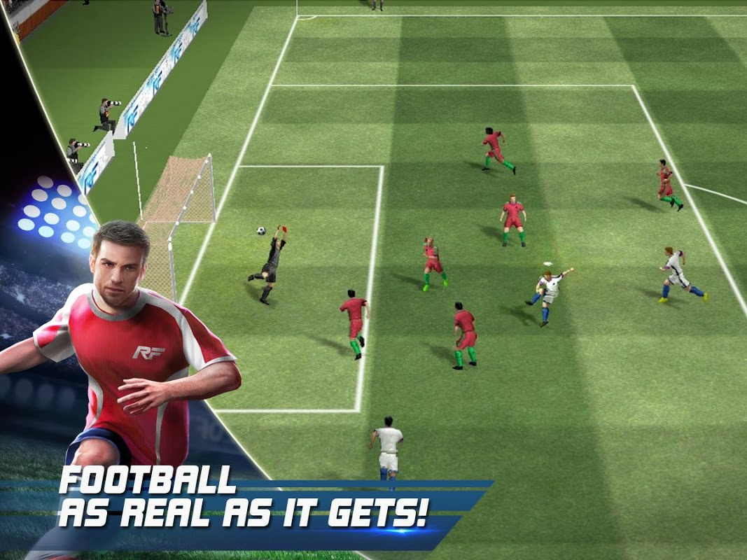 Real Football screenshot 1