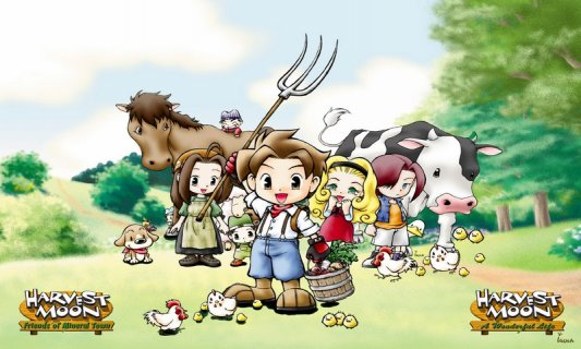 harvest moon friends of mineral town downloads