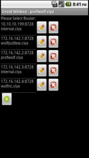 Winbox for Android Pro screenshot 3