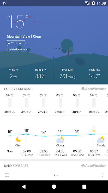 Weather Mate (Weather M8) screenshot 2