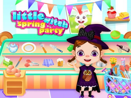 Little Witch Spring Party 1 0 2 Изтегляне на APK за Android - Aptoide