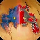 Spore Monsters.io 3D Wasteland Nomads Crab Turmoil