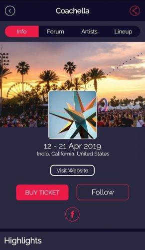 FestivAll, o teu guia de Festivais de Música screenshot 3