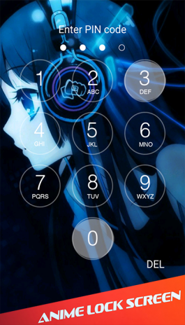 Anime Lock Screen Wallpaper 1