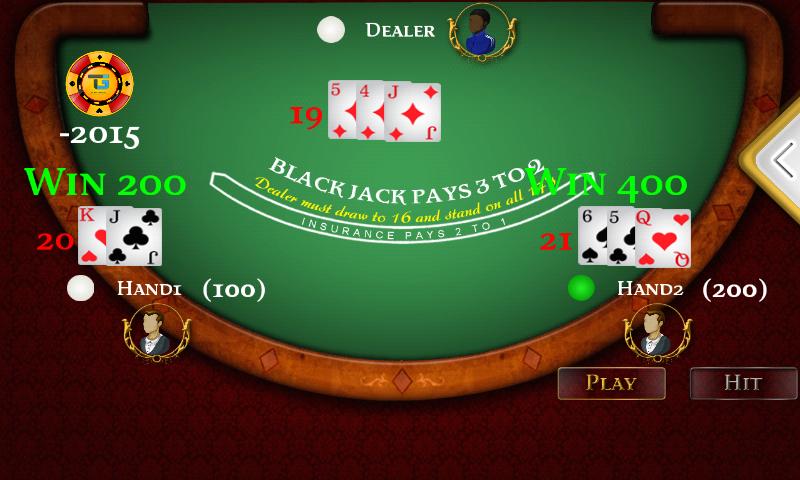 BlackJack Multi Hand screenshot 1