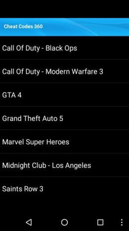 Cheat Codes For Xbox 360 Games 10 Download APK for Android