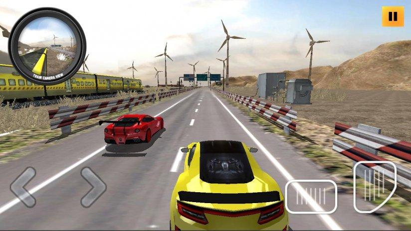 Train Vs Car Racing 2 Player Games Bankslasopa