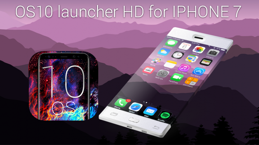 ilauncher OS 10 Launcher for iphone 72 2 tải APK dành cho