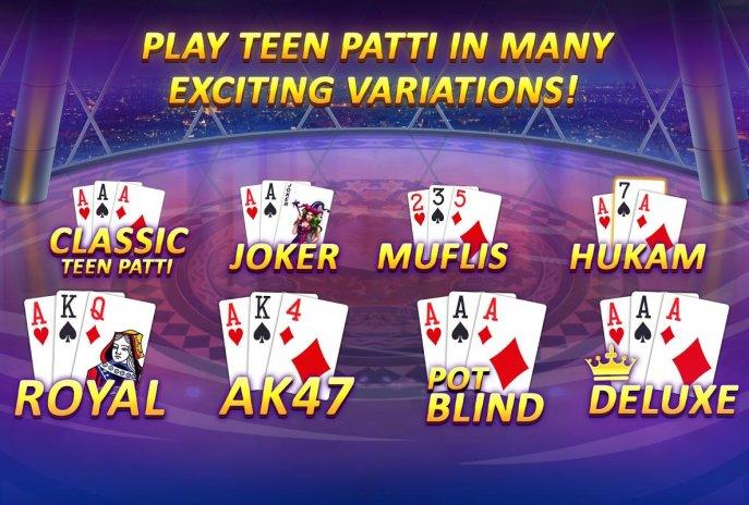 ... teen patti gold with poker rummy screenshot 2 ...