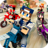 Dirtbike Survival Block Motos Icon