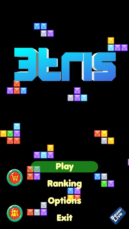 3tris - Color Brick Adventure screenshot 1