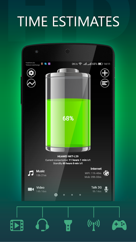 Battery HD Pro screenshot 1