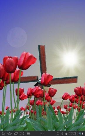 Tulip Windmill Live Wallpaper Screenshot 8