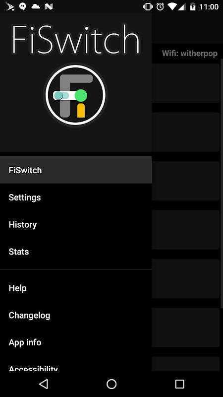 FiSwitch screenshot 1