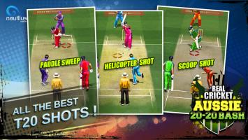 Real Cricket ™ Aussie 20 Bash Screen