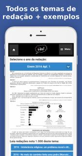 Enem 2018 Simulados e Redação screenshot 7