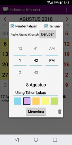 indonesia 2018 national holidays calendar screenshot 3
