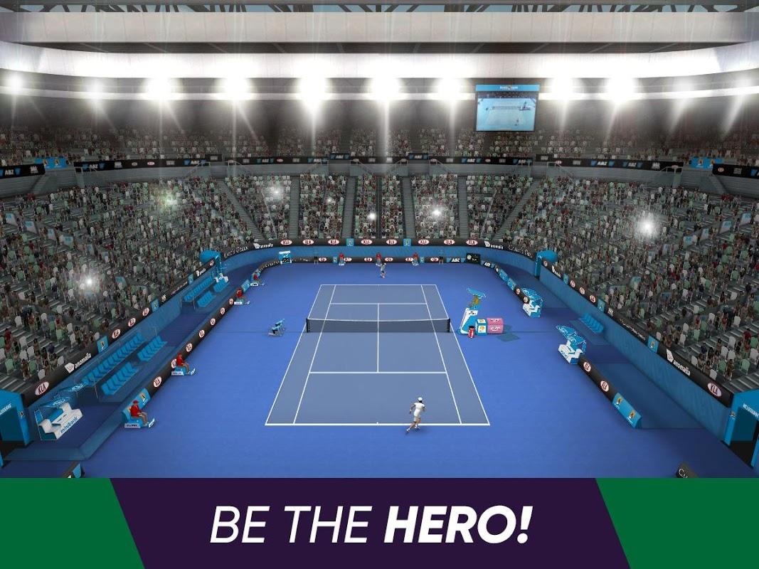 Tennis World Open 2019 screenshot 1
